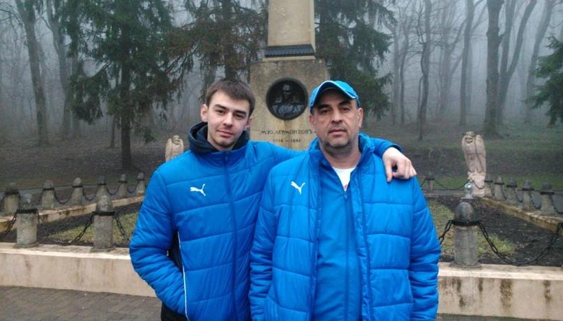 Всладислав и Сергей Соромытько
